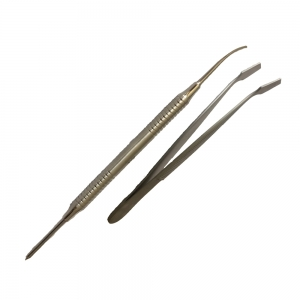 MEMBRANE HOLDING FORCEPS AND PLACEMENT SPOON
